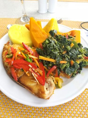 Escovitch-Fish-w-Provisions-and-Calaloo