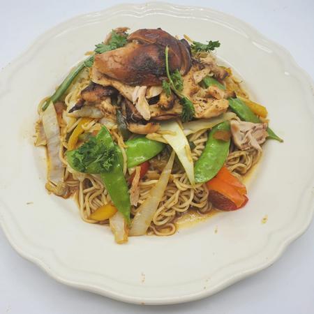 Jerk-Chicken-Chow-Mein
