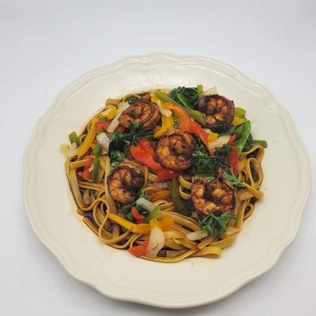 Jerk-Pesto-Shrimp-Fettuccine