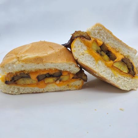 Plantain-Cheddar-Sandwich