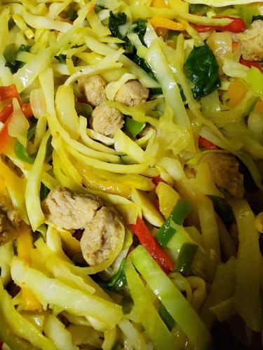 Stir-fried-Vegetables-with-Soya-Chunks